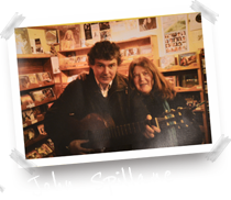 John Spillane at Dingle Record Shop